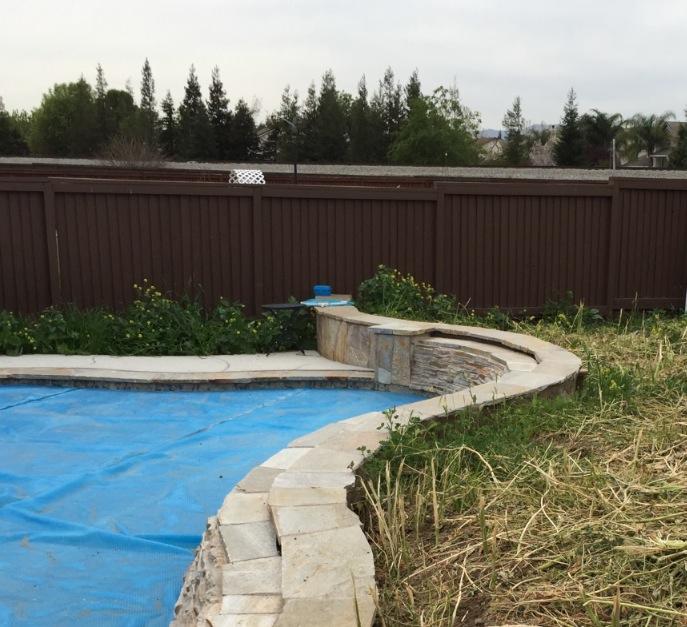 Block Retaining Wall Waterproofing : Waterproofing a retaining wall jennifer craven landscape designer